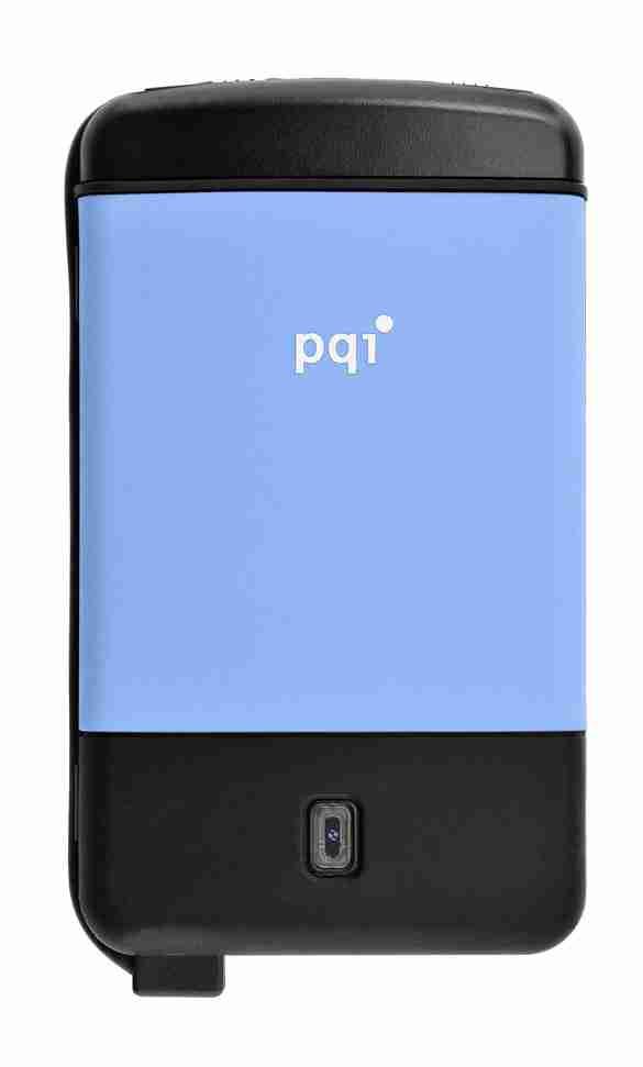 PQI H560 Military Spec Shock Proof 500GB Blue 2.5inch USB 2.0 Portable Hard Drive