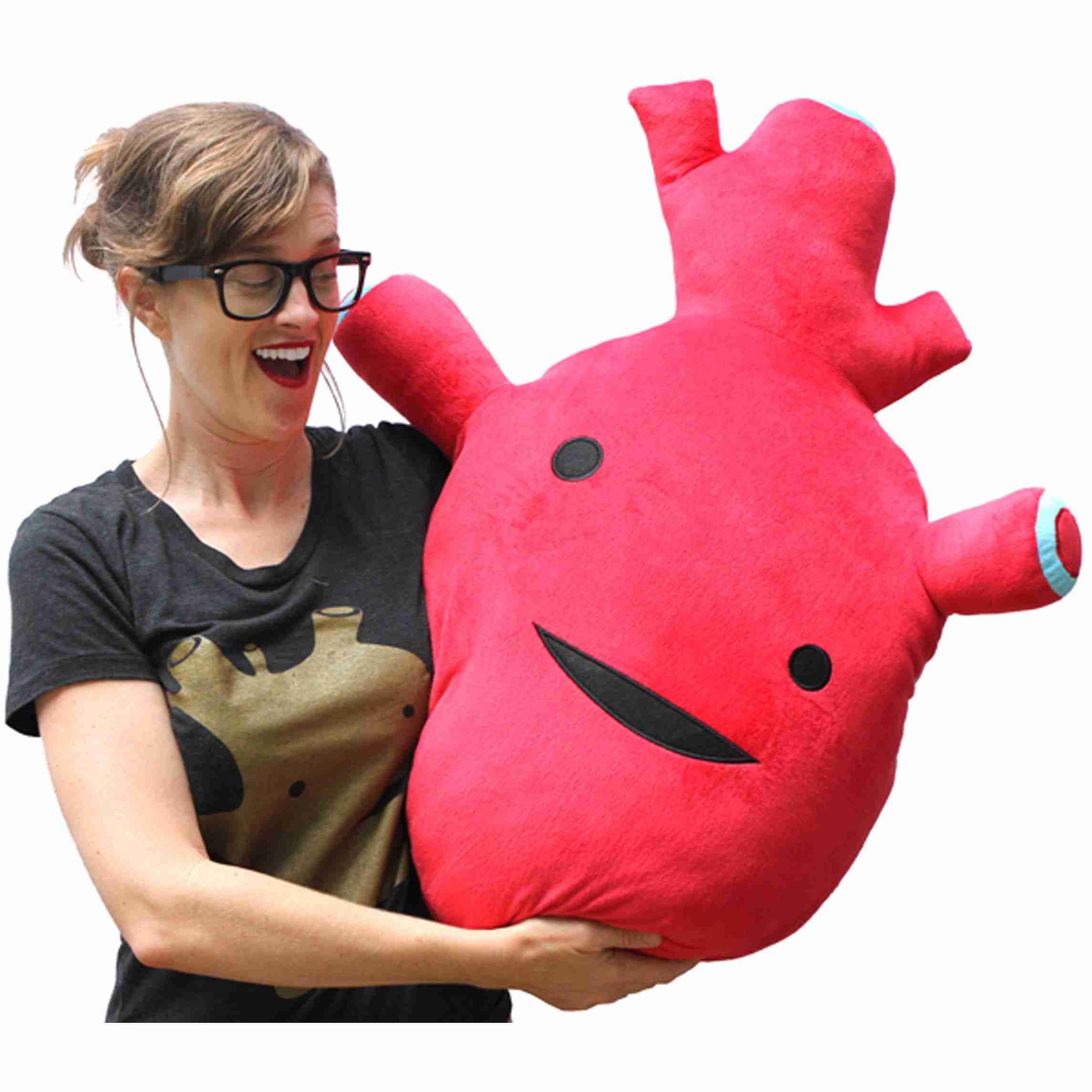 Big Big Heart - Giant Heart Plush by I Heart Guts