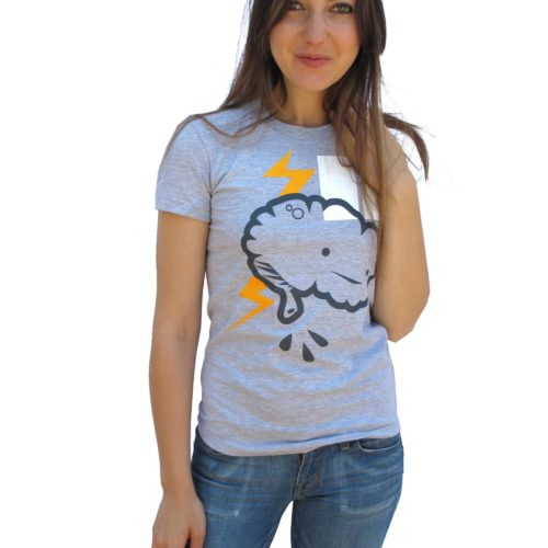 Brain Power T-Shirt by I Heart Guts on Fox & Monocle
