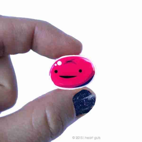 Cervix Lapel Pin by I Heart Guts