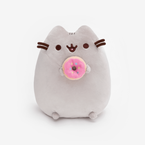 Donut Pusheen Soft Plush Toy Front