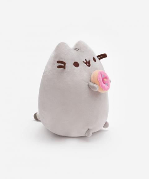 Donut Pusheen Soft Plush Toy Side