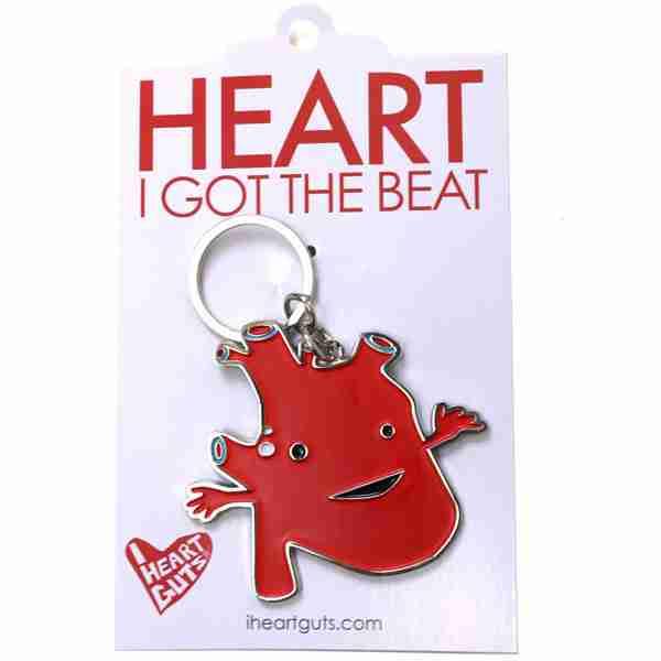 Key chain - Heart by I Heart Guts