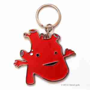 Key chain - Heart by I Heart Guts
