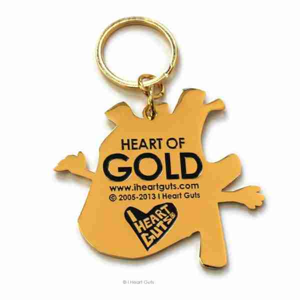 Heart of Gold Organ Key Chain by I Heart Guts on Fox & Monocle