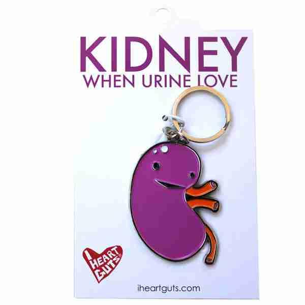 Key chain - Kidney by I Heart Guts