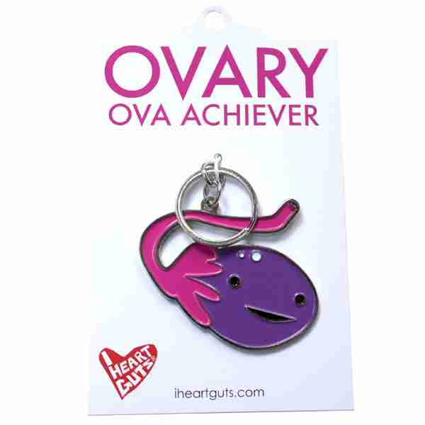 Ovary Organ Key Chain by I Heart Guts on Fox & Monocle