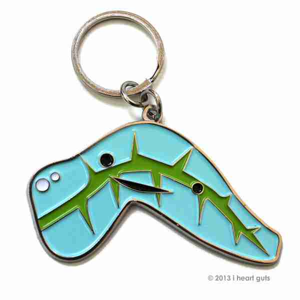 Key chain - Pancreas by I Heart Guts