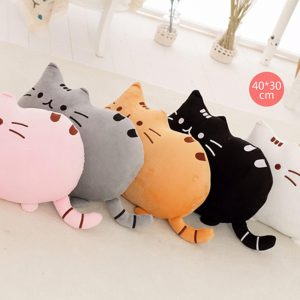 Pusheen the Cat Plush Cushion on Fox & Monocle - Pink