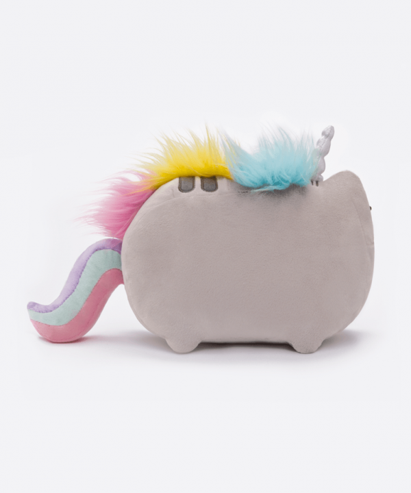 Pusheenicorn soft plush toy back
