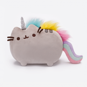 Pusheenicorn soft plush toy front