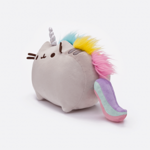 Pusheenicorn soft plush toy side