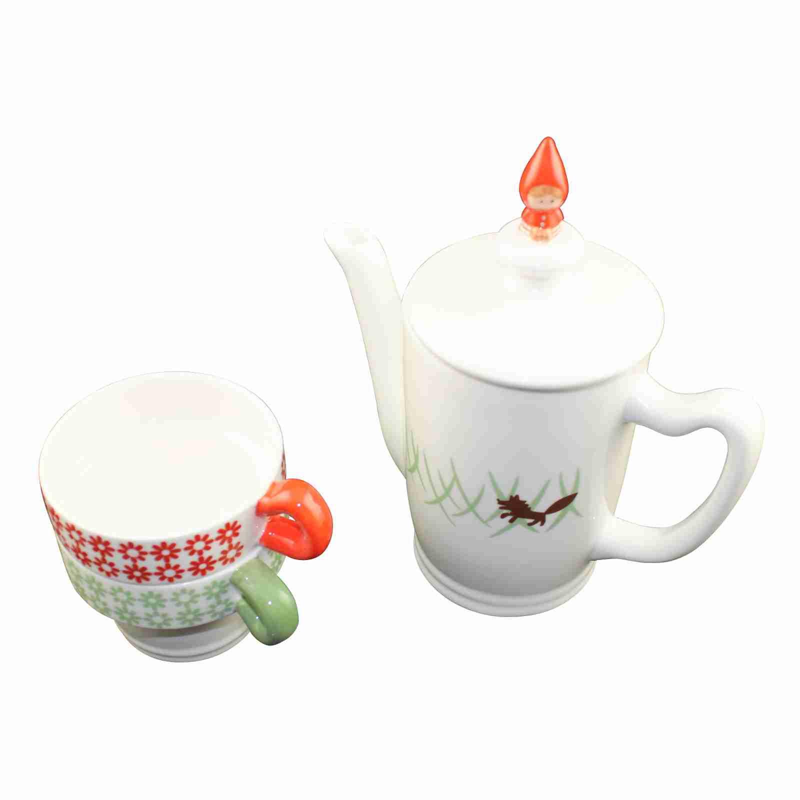 Tea for Two Red Riding Hood by Shinzi Katoh