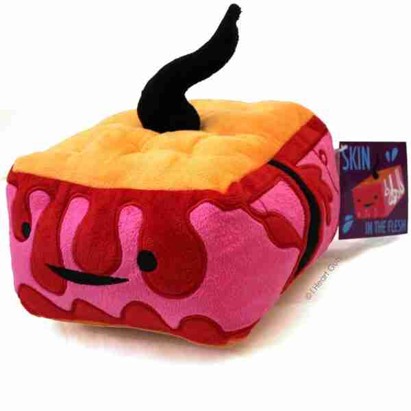 Skin Plush Toy - I Heart Guts on Fox & Monocle