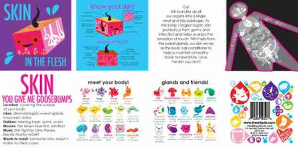 Skin Plush Toy - I Heart Guts on Fox & Monocle (booklet)