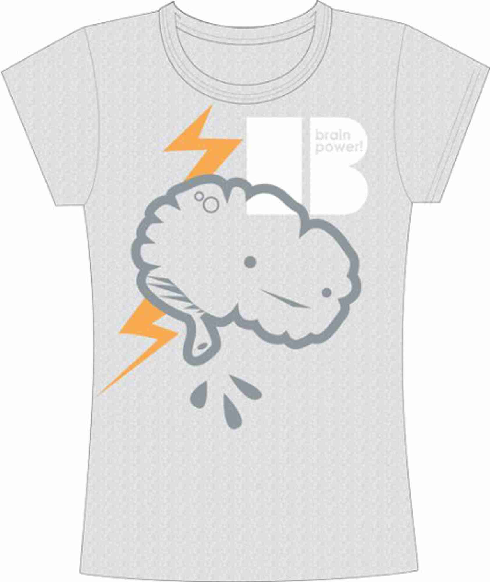 Brain Power Tshirt By I Heart Guts
