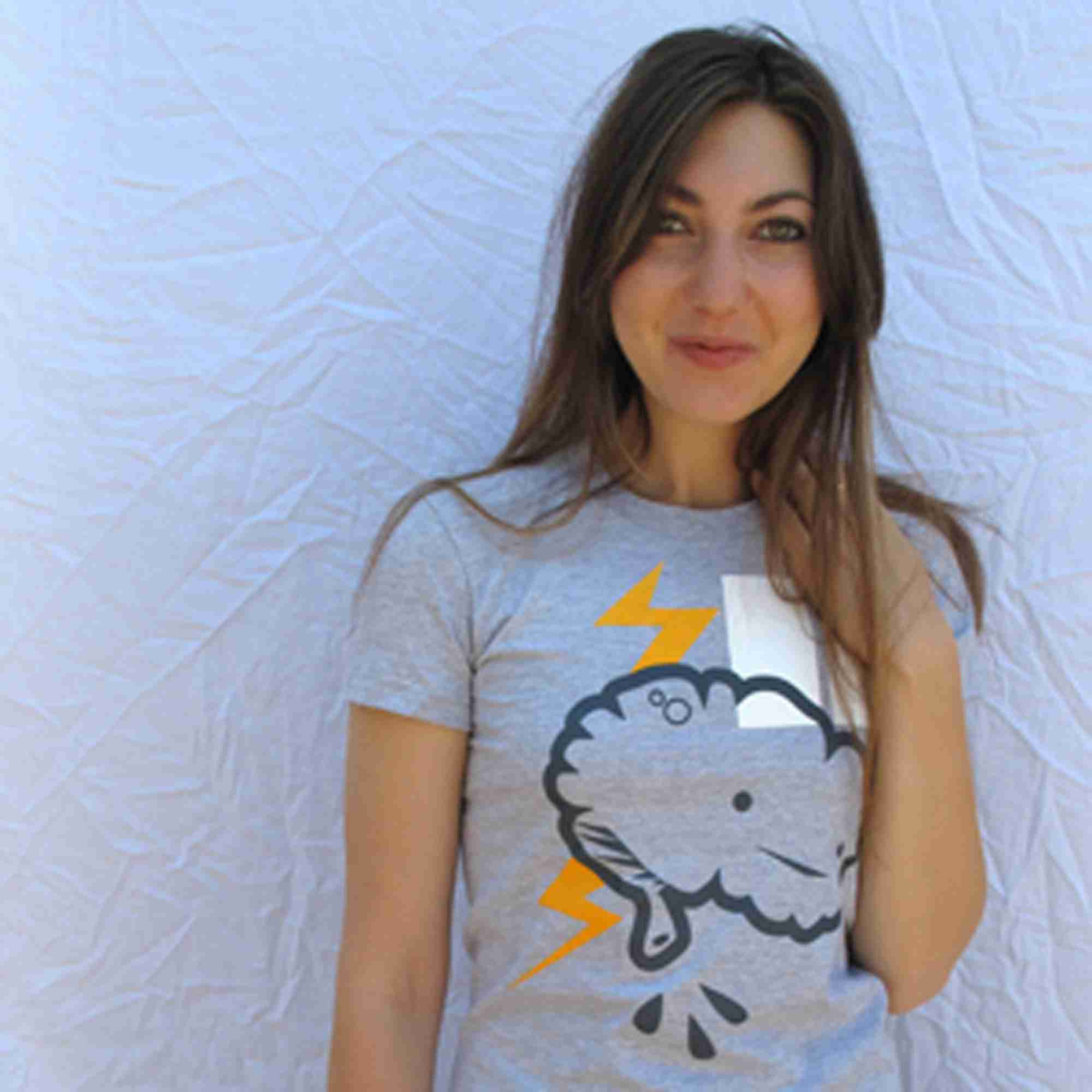 Brain Power Tshirt By I Heart Guts