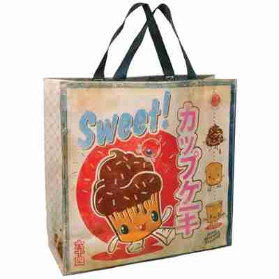 Eco Friendly Shoppers Tote Bag - Sweet Cupcake