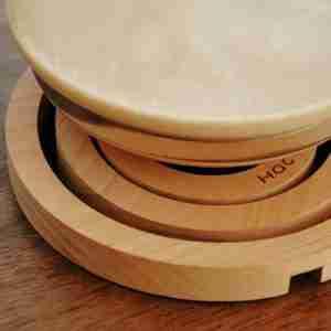 Quoit - Wooden Heat Mat Trivet in Alder by Hacoa