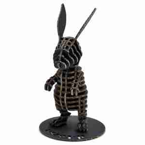 Rabbit 3D Cardboard Figurine by d-Torso