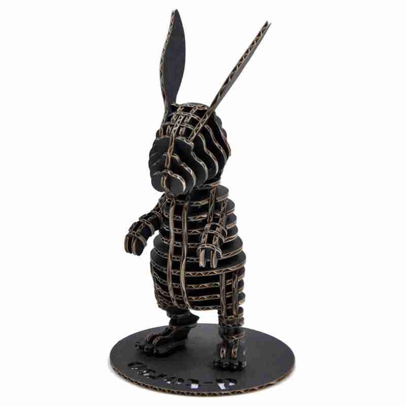 Rabbit 3D Cardboard Figurine by d-Torso