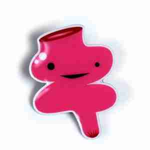 Rectum Lapel Pin by I Heart Guts