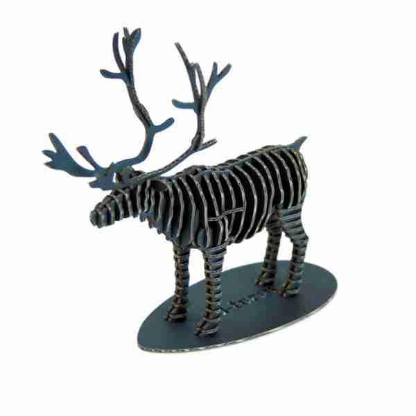 Reindeer 3D Cardboard Figurine by d-Torso