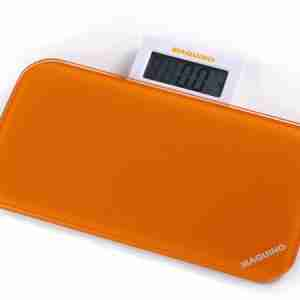 Bathroom Scales: Pattern Range - Orange