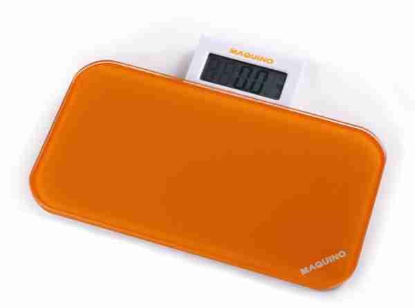 Bathroom Scales: Pattern Range - Orange