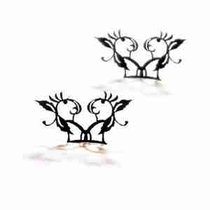 """Peach Blossom"" Paper Eyelashes (Small) by PAPERSELF"