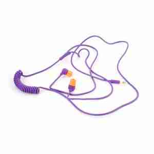 Aiaiai SWIRL Earphones in Purple