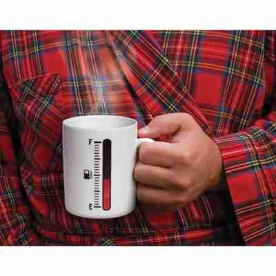 Tank Up - Cool Coffee Mug with Liquid Level Gauge