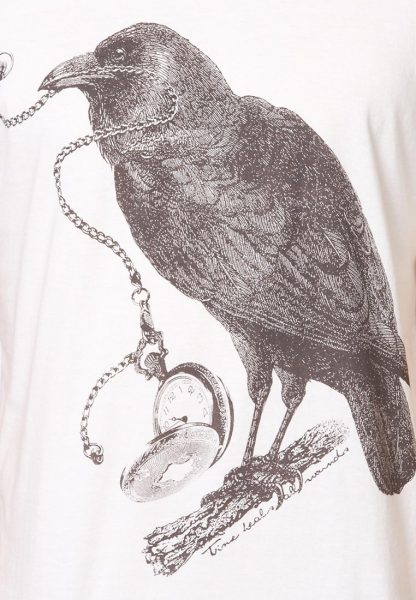The Raven Poem Tshirt by Tee Library