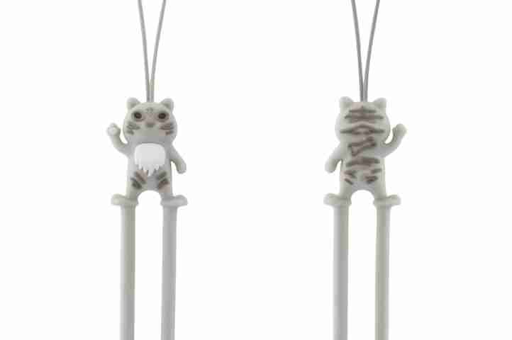 Yellow Tiger Phone Strap by Bone Collection