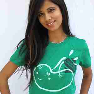 Smells Like Spleen Spirit Green (Guys/Girls) T-Shirt by I Heart Guts
