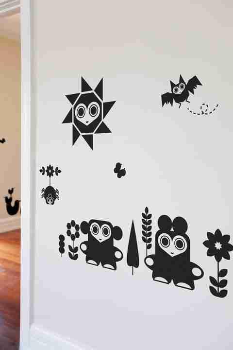 Animal Friendlies Wall Decals by Upper Playground