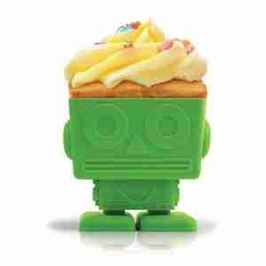 Yumbots Robot Shaped Cupcake Molds