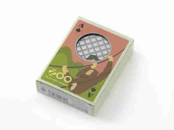Novelty ZOO Pack Playing Cards